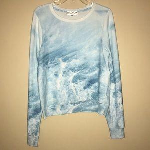Wildfox Ocean Waves Sweater